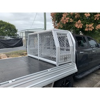 Alloy Dog Cage 1770L x 550W x 860H